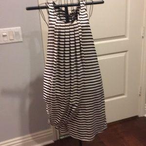 John Paul Gaultier striped tank dress